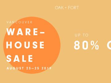 oak-fort-warehouse-sale-2019