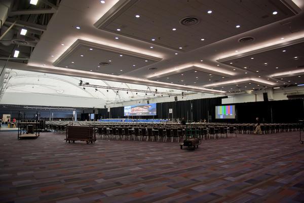 Reception Classroom Design ~ Exhibition halls vancouver convention centre