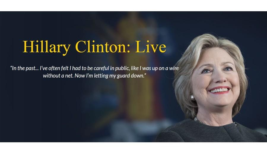 Hillary Clinton Live Events Vancouver Convention Centre